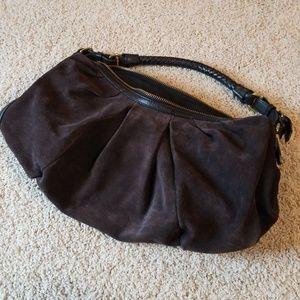 Banana Republic beautiful brown suede purse